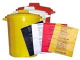 Мешки и пакеты для медицинских отходов