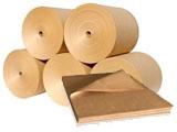 Крафт-бумага в рулонах и в листах