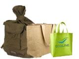 Сумки и рюкзаки из тканей
