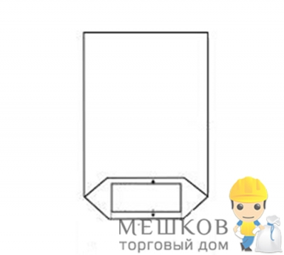 Мешок ПП, тип МТ I, 80гр/м2, УФ  прозрачный справа